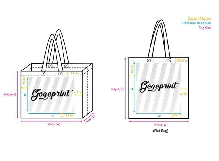 Check Non-Woven Bags size before order